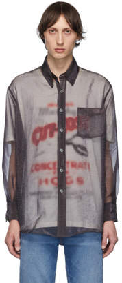 Our Legacy Grey Less Borrowed Shirt