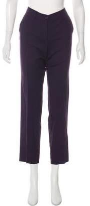 Etro Mid-Rise Straight-Leg Pants