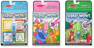Melissa & Doug Colors & Shapes, Fairy Tales & Animals Water Wow! Bundle