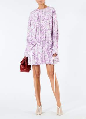 Tibi Isa Toile Short Shirt Dress