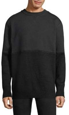 Public School Lotus Terry Crewneck Sweater