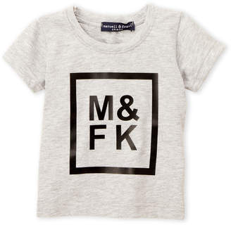 Manuell & Frank Infant Boys) Grey Graphic Tee