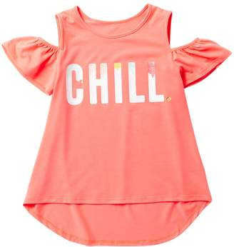 Kate Spade chill cold shoulder tee (Big Girls)