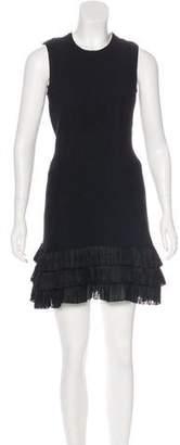 Theyskens' Theory Textured Mini Dress