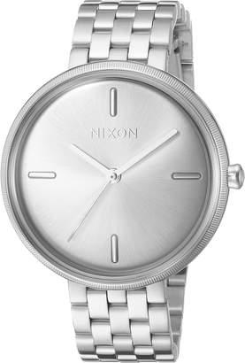 Nixon Women's 'Vix' Quartz Stainless Steel Casual Watch, Color:-Toned (Model: A11711920)