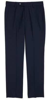 Nordstrom Elliott Slim Fit Flat Front Trousers