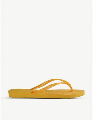 Havaianas Logo-embossed rubber flip-flops