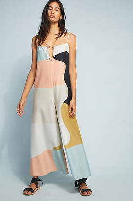 Mara Hoffman Pastel Colorblocked Jumpsuit