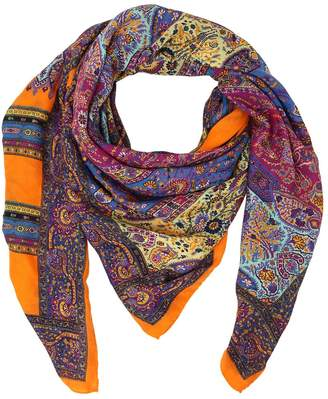 Etro BOMBAY PRINTED TWILL SCARF