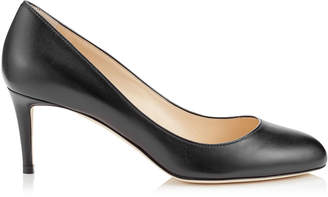Jimmy Choo BRIDGET 65 Black Kid Leather Round Toe Pump