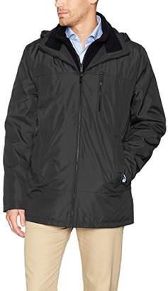 Calvin Klein Men's Poly Fleece Bib Hoody Jacket