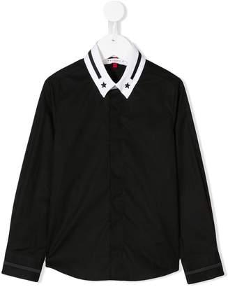 Givenchy Kids contrast collar shirt