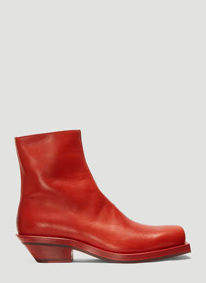 Ion Number 5 Boots in Red
