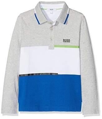 BOSS Boys' Manches Longues Polo Shirt