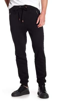 True Religion Slim Zip Sweatpants