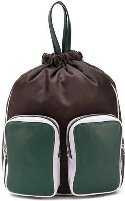 Marni double pocket backpack