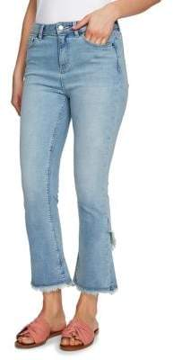 1 STATE 1.State Classic Frayed Jeans