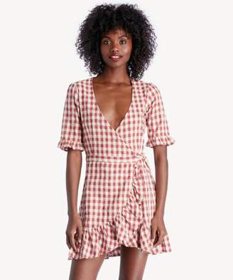 Sole Society Nadine Wrap Dress