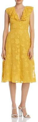 Joie Adella Floral Embroidered Dress