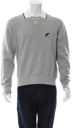 Michael Bastian Embroidered Pullover Sweatshirt