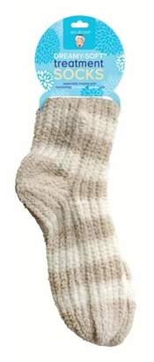 Spa Sister Dreamy Soft Treatment High Calf Socks, Oatmeal