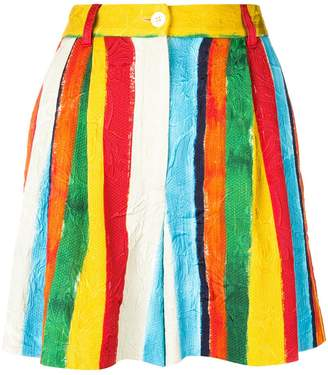 Dolce & Gabbana striped mini skirt