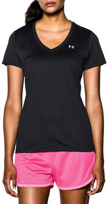 Under Armour Loose Fit Heat Gear V-Neck T-Shirt