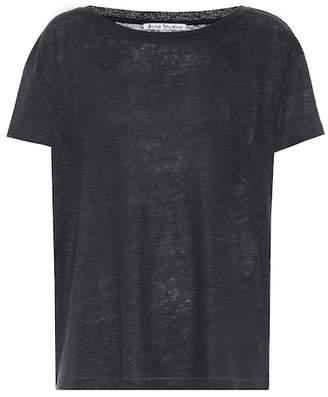 Acne Studios Eldora linen T-shirt
