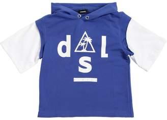 Diesel Mesh & Light Cotton Sweatshirt