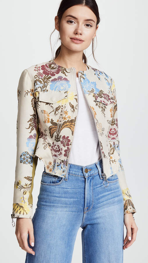 Classic Jacket With Peplum