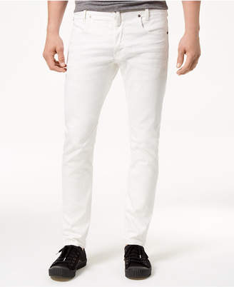 G Star Men's Slim-Fit Stretch White Jeans