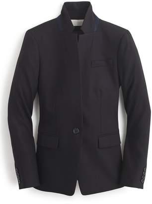 J.Crew Regent Stand Collar Blazer