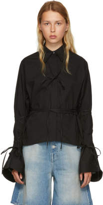 MM6 MAISON MARGIELA Black String Shirt