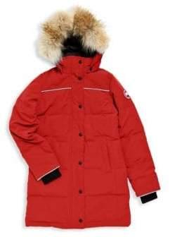 Canada Goose Boy's Juniper Fur-Trimmed Parka