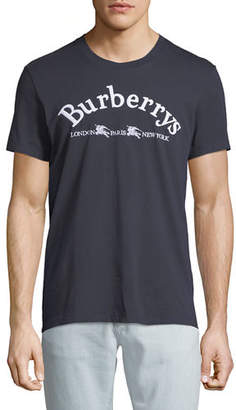 Burberry Men's Pairi Logo-Graphic T-Shirt