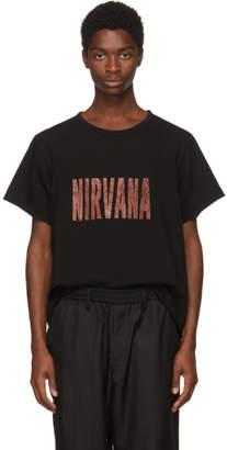 Yohji Yamamoto Black Nirvana T-Shirt