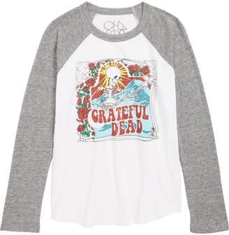 Chaser Grateful Dead Skeleton Guitar T-Shirt