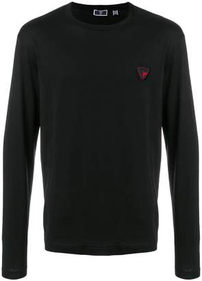 Rossignol logo patch long-sleeved T-shirt