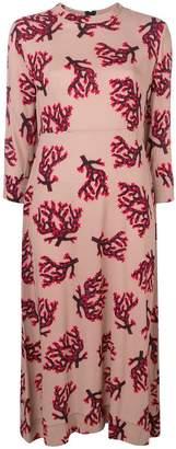 Marni branch print dress