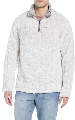 True Grit Frosty Tipped Quarter Zip Pullover