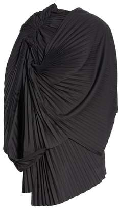 Junya Watanabe Asymmetrical Pleated Dress