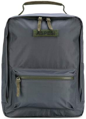 Aspesi zip pocket backpack