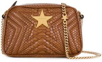 Stella McCartney snake print star shoulder bag