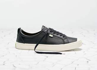 Cariuma OCA Low Black Premium Leather Sneaker Men