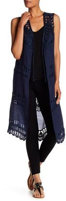Cullen Linen Open Vest $126 thestylecure.com