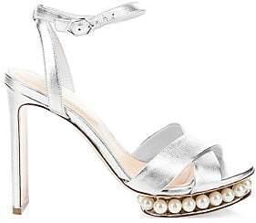 Nicholas Kirkwood Women's Casati Imitation Pearl Platform Sandals
