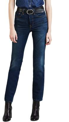 Levi's Wedgie Icon Fit High Waist Crop Jeans