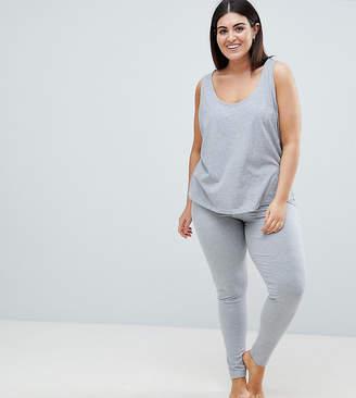 Asos DESIGN Curve Mix & Match Pajama Legging