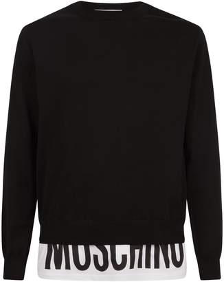 Moschino Layered Logo Sweater