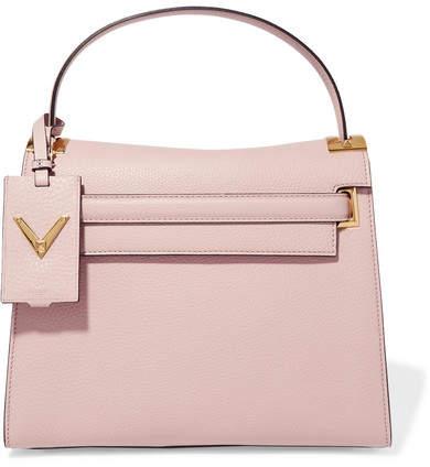 Valentino - My Rockstud Large Leather Tote - Blush